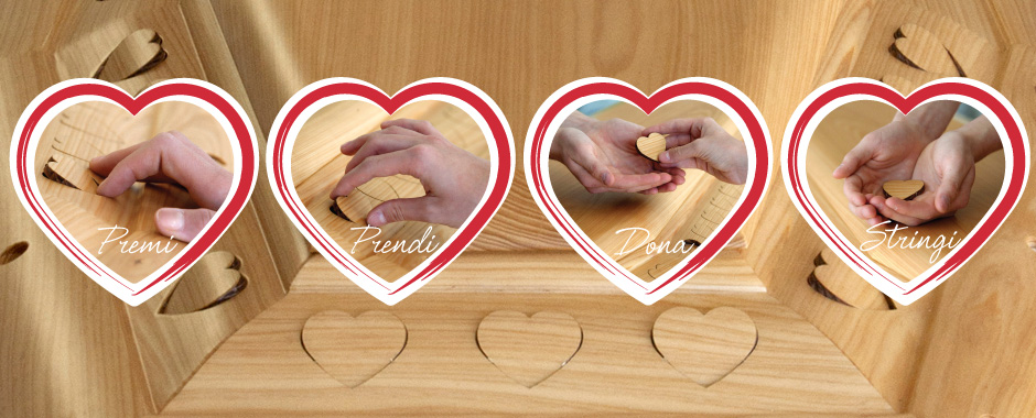 THE HEART COFFER - Your gesture of love